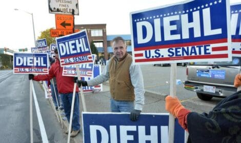 Diehl Debate Tax Cuts