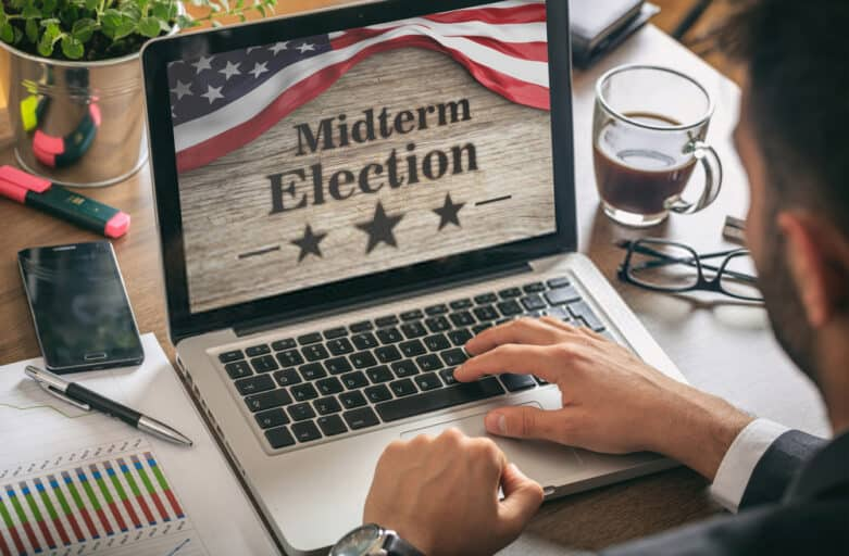 midterm elections picture onscreen